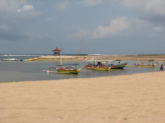 Nusa Dua, Indonesia: beach scene Bali