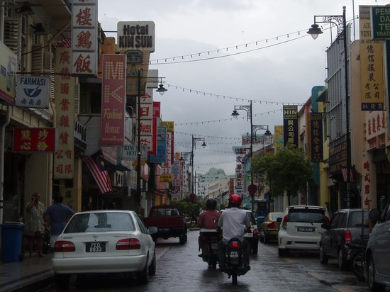 George Town, Malaysia: Older streets of Georgetown