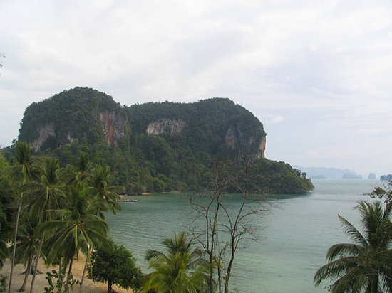 Koh Yao Noi, Tailandia: Overlooking Phang Nga Bay