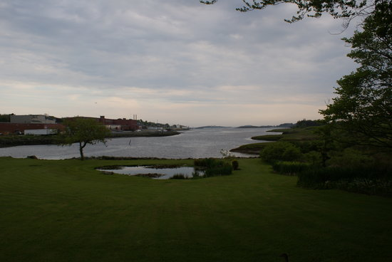 Yarmouth, Canada: View of the backyard