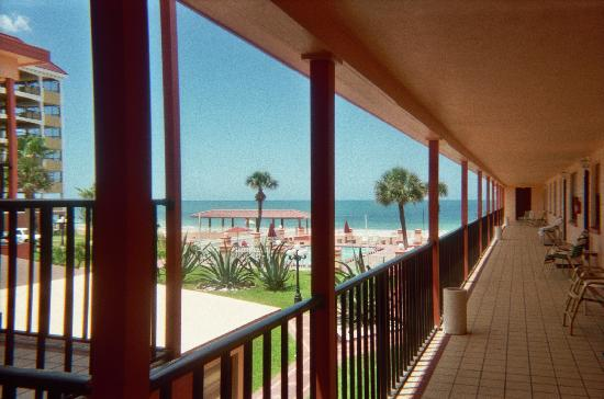 North Redington Beach, FL: View from our room #2