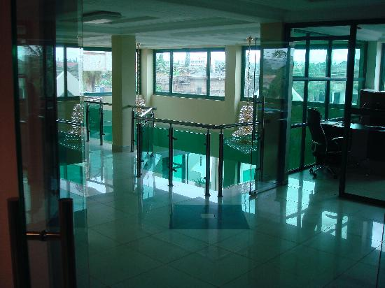Korkdam Hotel: Common area