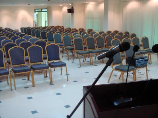 Korkdam Hotel: One of few conference areas