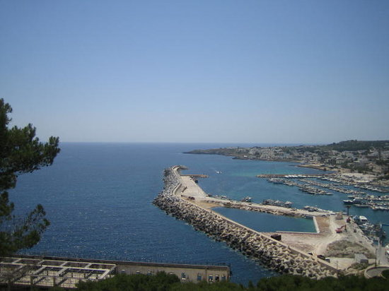 Gallipoli, Italy: Nearby Leuca (Southern most tip of the heel of the boot)