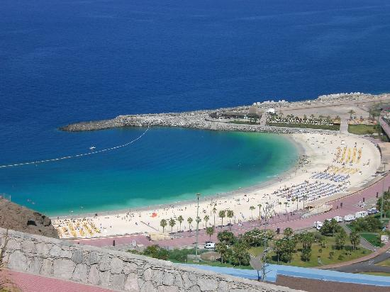 man made beach  Picture of Puerto Rico, Gran Canaria