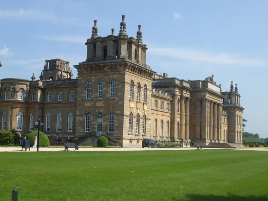 Blenheim Palace. Just outside Oxford