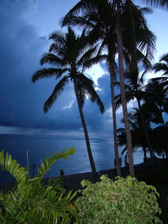 Korolevu, Fiji: Evening shot