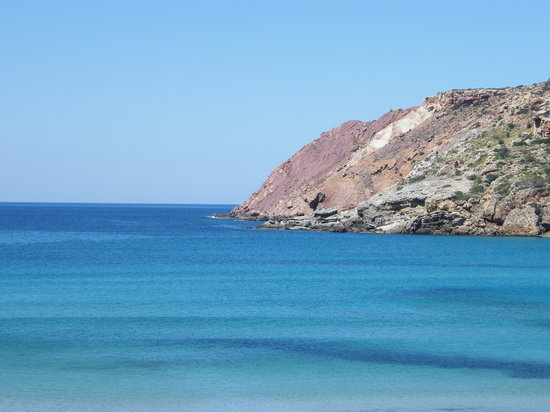 Son Bou, España: sea was spotless