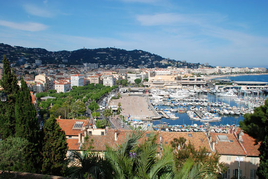 , : Cannes from the Castle