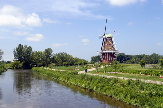 Windmill Island - De Zwaan Windmill