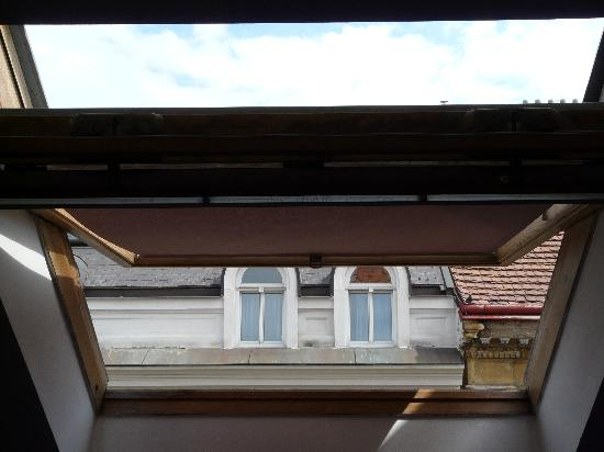 Balbin Hotel: the view from the window - if you stay on the bed