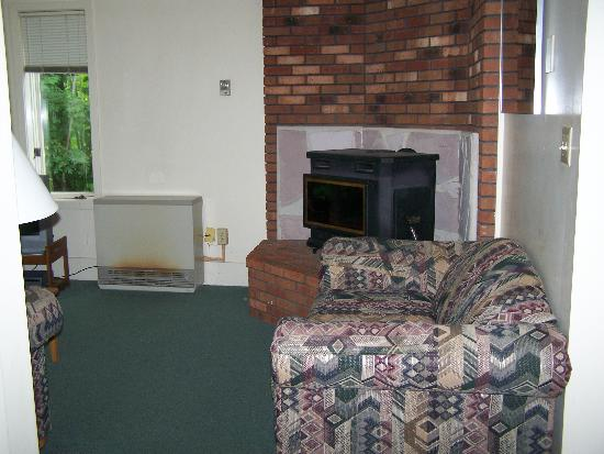 Intervale, NH: Living room