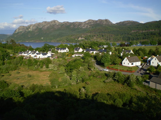 Tigh nan Saor: The village of Plockton