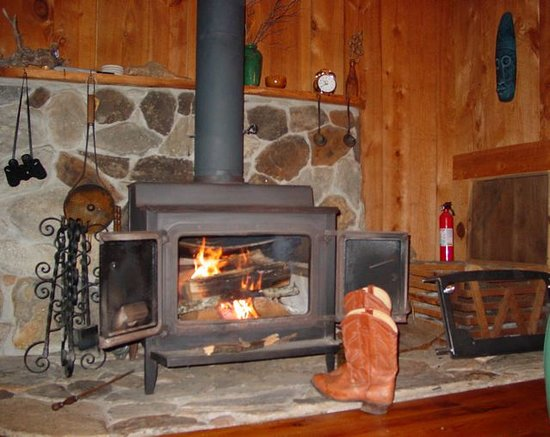 Asheville Cabin Rentals: Fished is log .....