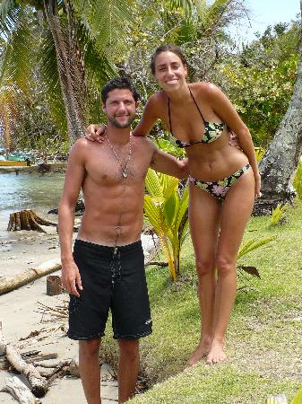 Isla Bastimentos, Panama : Me and my love 