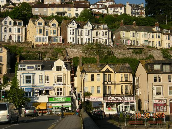 Looe Town View
