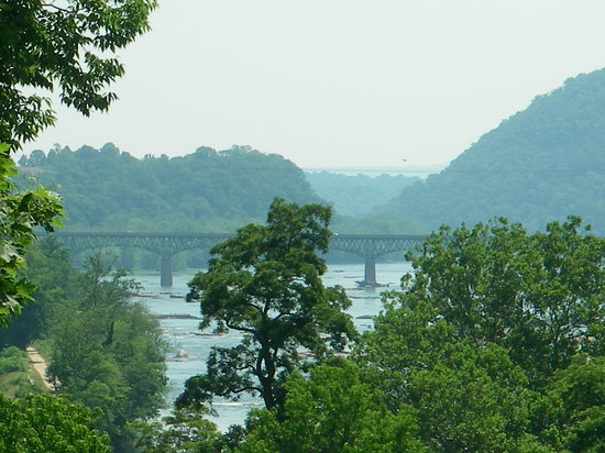 Harpers Ferry, Западная Вирджиния: just one outstanding view