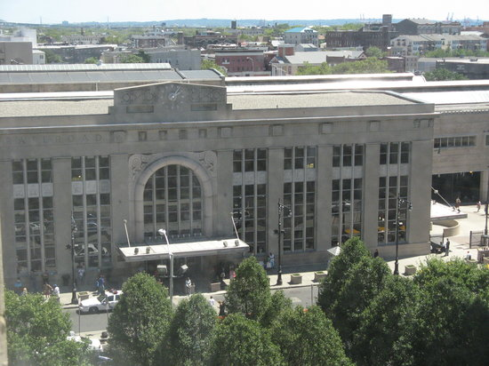 Penn Station Newark from my window