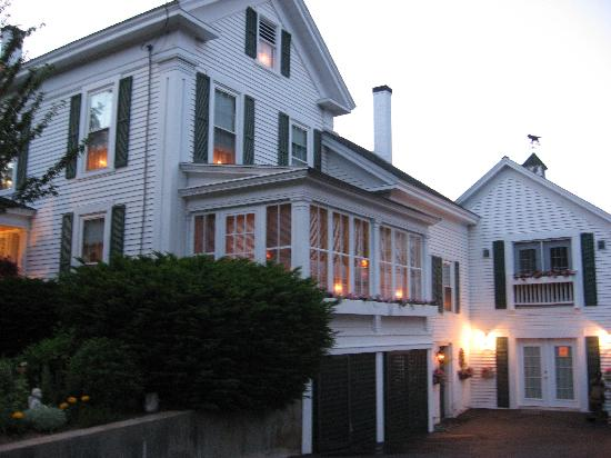 Wolfeboro, NH: Side view of the B & B