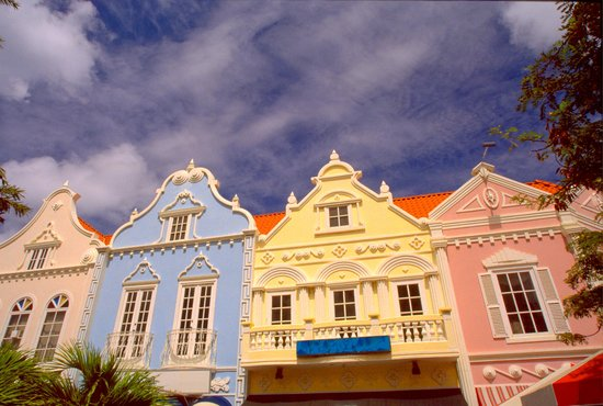 Downtown Oranjestad