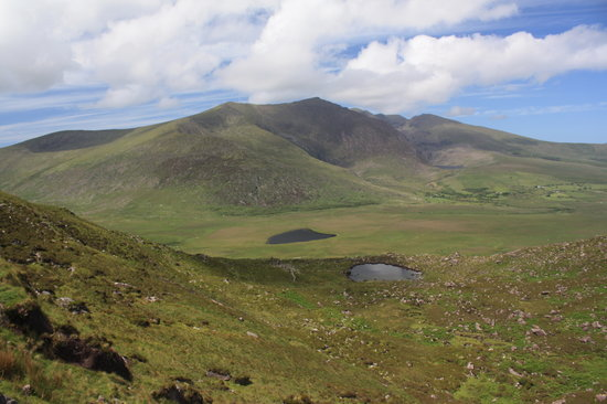 Ireland: co. Kerry - Dingle Peninsula - Conor Pass View