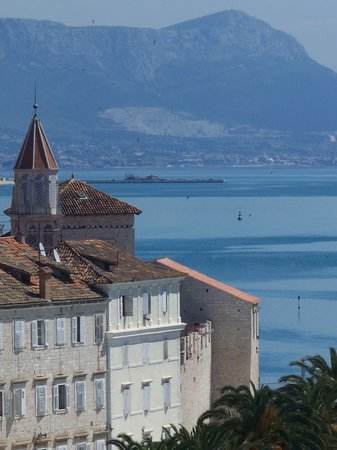 Trogir-view from Kamerlengo Fortress