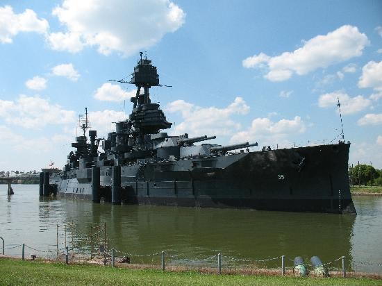 Battleship texas picture of san jacinto battleground for Attractions in la porte tx