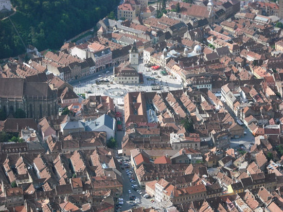 Brasov from above