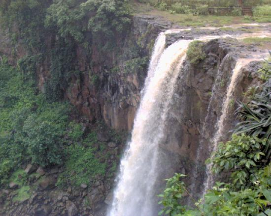 Madhya Pradesh, Indien: &#39;Kapil Dhara&#39; - The great water fall