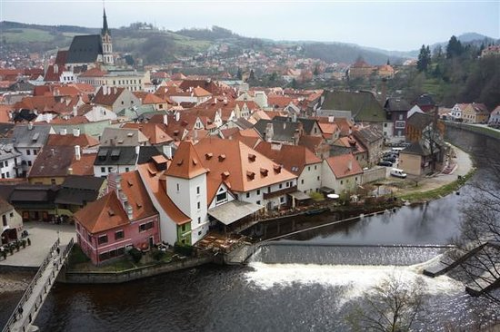 Cesky Krumlov, Rpublique tchque : Krumlov 