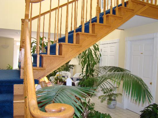 Berkeley Springs Spa and Inn: stair way