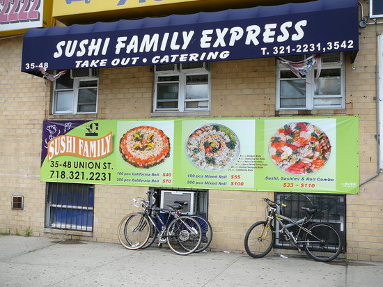 sushi family express by lman ny ithaca new york