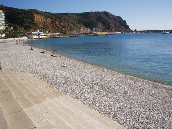 Javea, Spanien: Pebble Beach