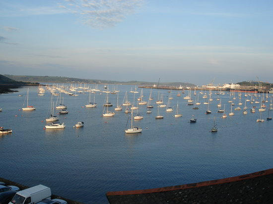 Falmouth, UK: harbour view