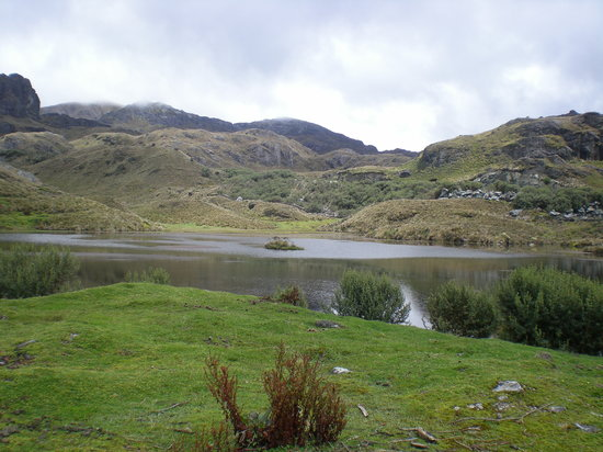 Cuenca, Ecuador: One of the numerous mountainside lakes