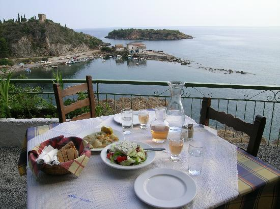 Kardamili, Greece: Local taverna