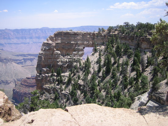 Grand Canyon Lodge - North Rim: View of Angels Window