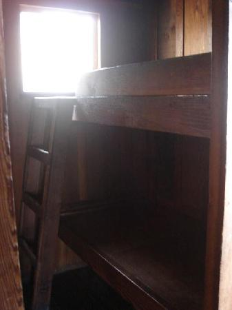 Mill Valley, Калифорния: The tiny bunk bed room