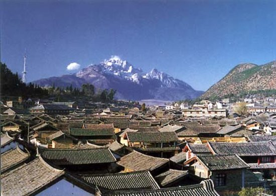 Lijiang roofs