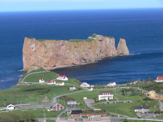 Perce, Canada : One of the great views on William's tour