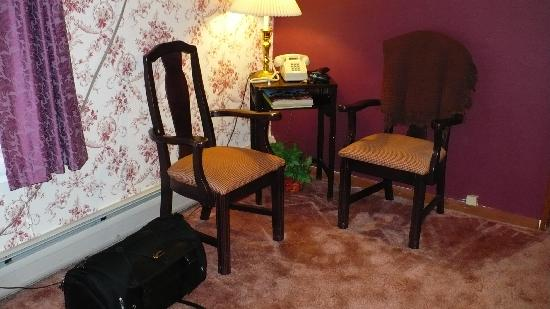 Red Oak Inn: a space to relax inside our room