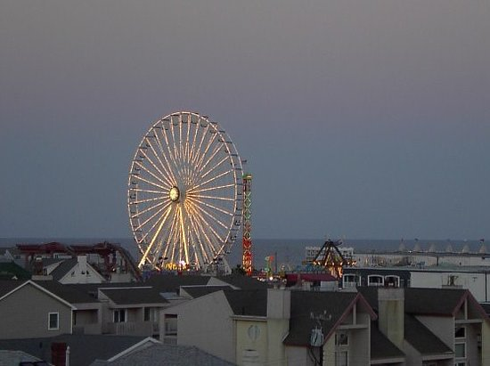 Ocean City, Nueva Jersey: view from 611 window