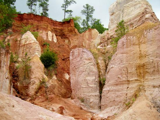 Providence Canyon State Park Picture Of Providence