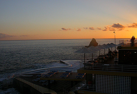 Funchal, Portugal: A Local Beach Resort &quot;Lido&quot;