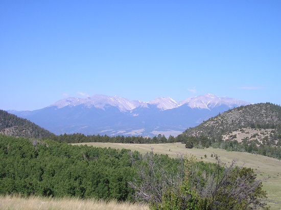 Buena Vista, CO: One of the views...