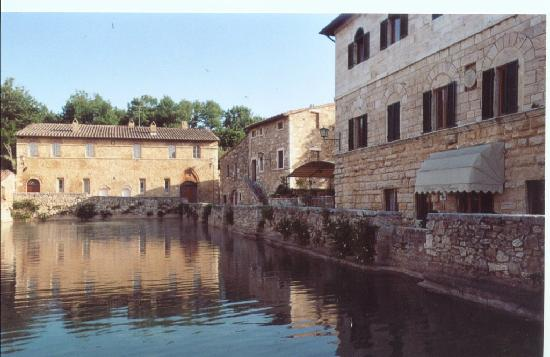 Bagno Vignoni view
