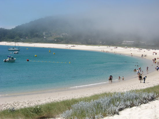 Vigo, Espagne : The nearby Isla Cies 
