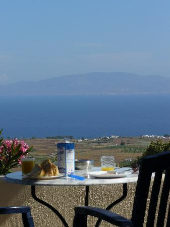 Anemoessa Villa: view from patio