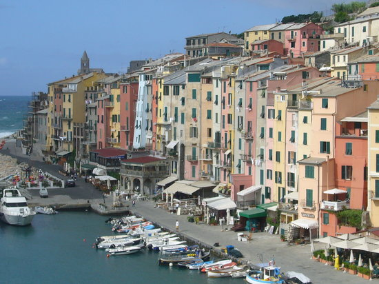 Porto Venere, Italy: The view from the balcony