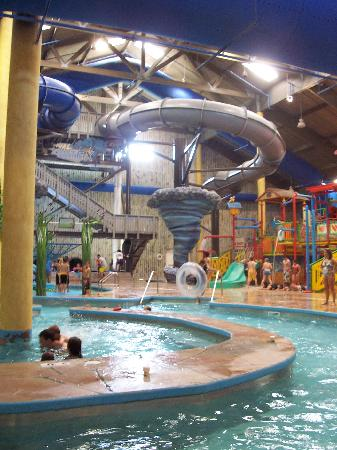Shipshewana, IN: The slides and lazy river